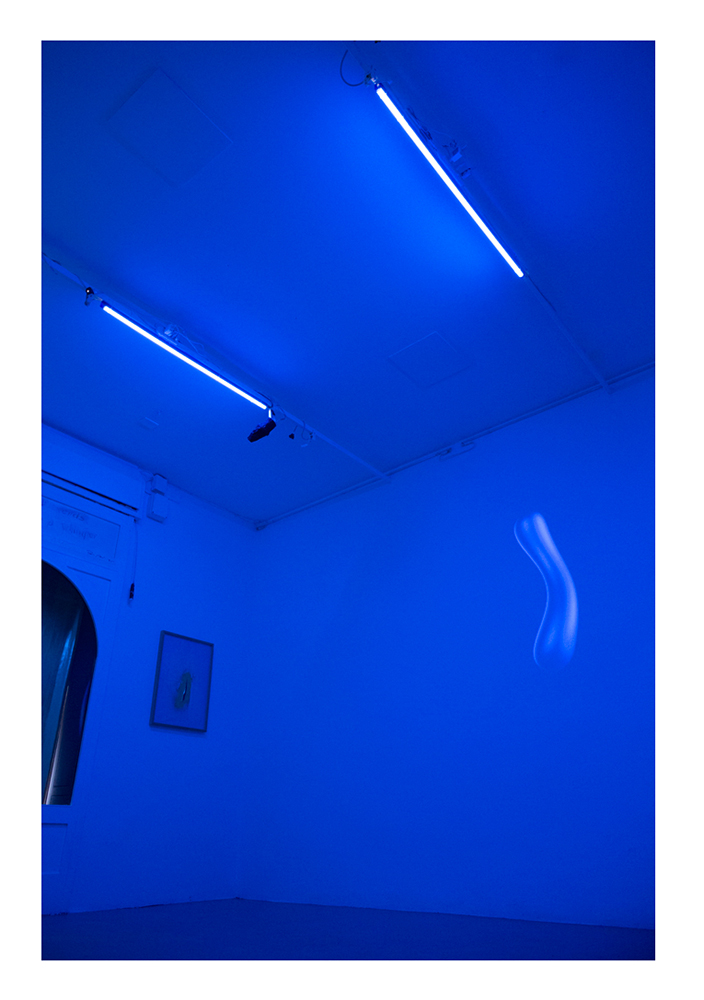 Anomalies In The Flux Of Normal Things Installation shot at Nowhere Gallery Milan, 2018