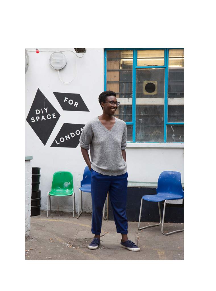 Vwede Okorefe for Notes For A New World Order at DIY Space for London, 2018